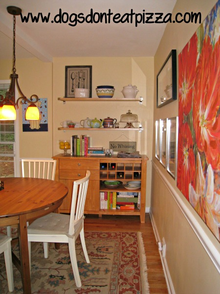 Old kitchen breakfast room - thediybungalow.com