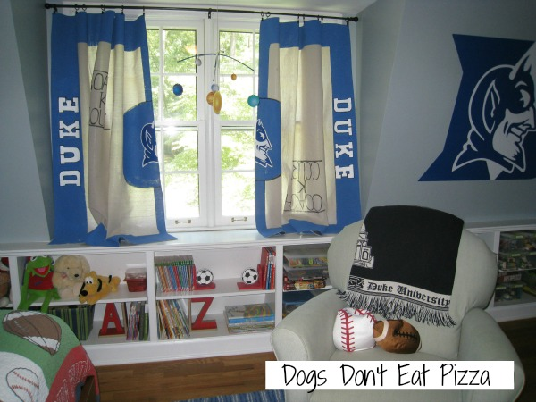 drop cloth curtains - Dogs Don't Eat Pizza