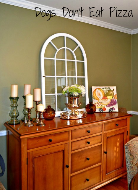 Dining Room Using Old Window