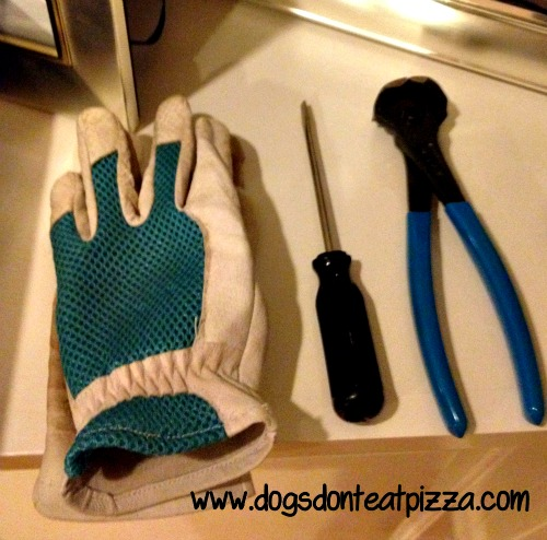 stair carpet removal tools