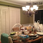 Dining Room Transformation: Day 1