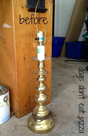 lamp before at thediybungalow.com