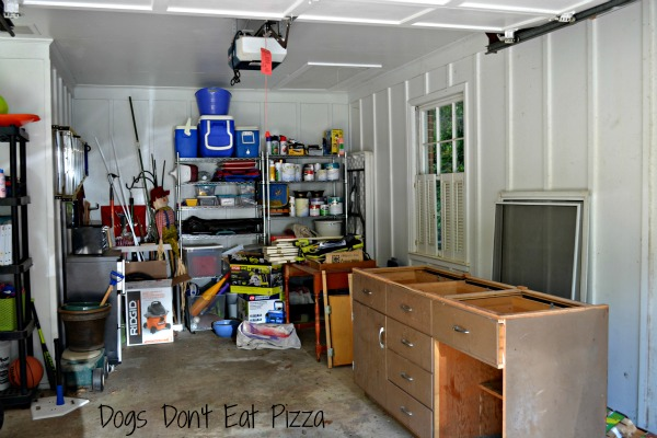 Garage and New Workshop Progress - thediybungalow.com