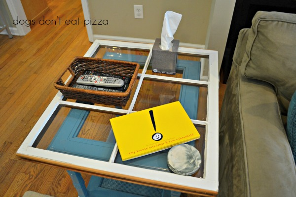 window table top side top view