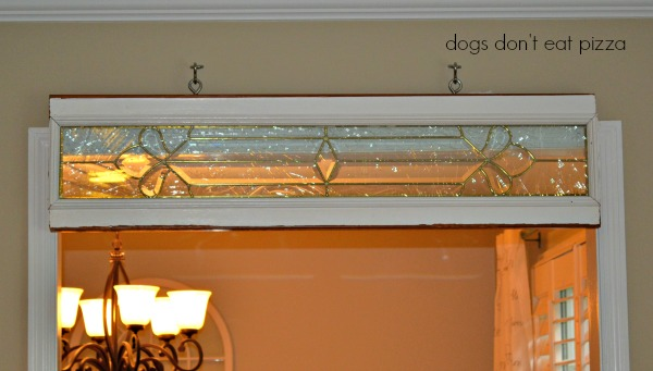 close-up of glass in window - five uses for old windows - Dogs Don't Eat Pizza