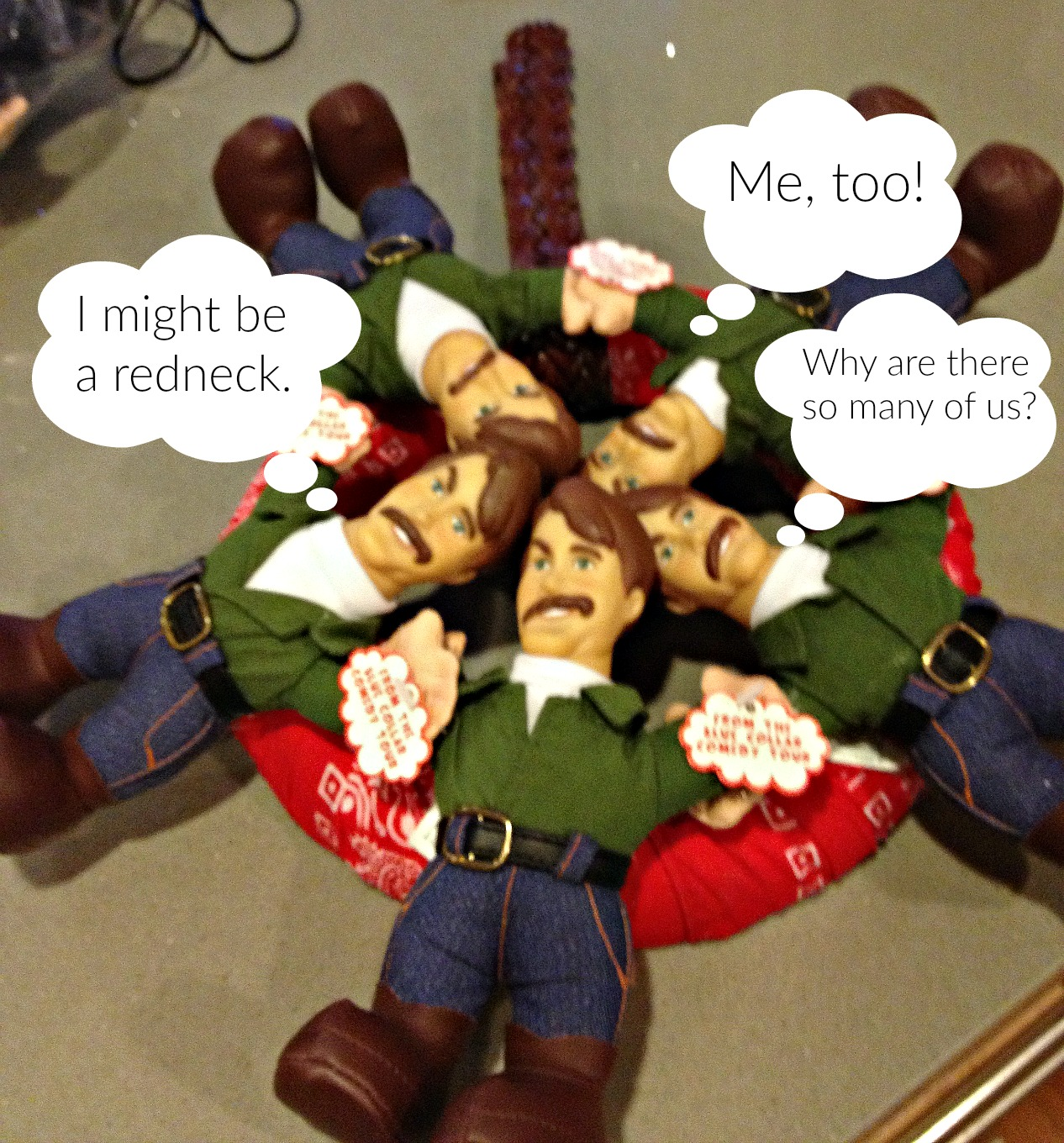 You Might Be a Redneck Wreath conversation - thediybungalow.com