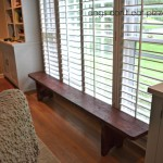 Vintage School Bench Gets a New Home