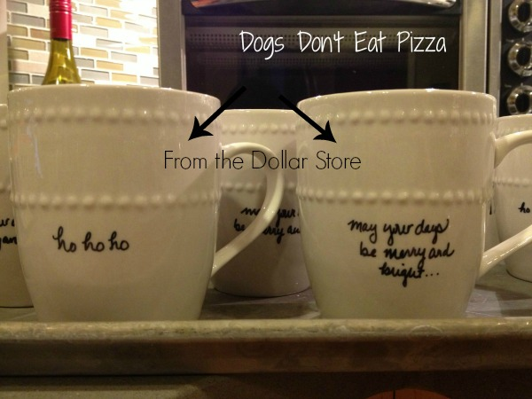 Dollar store mugs - Finding deals on home decor - thediybungalow.com