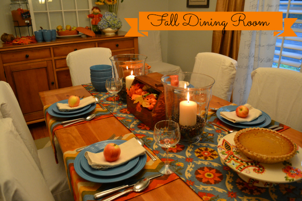 Creating Fall Warmth in My Dining Room - thediybungalow.com