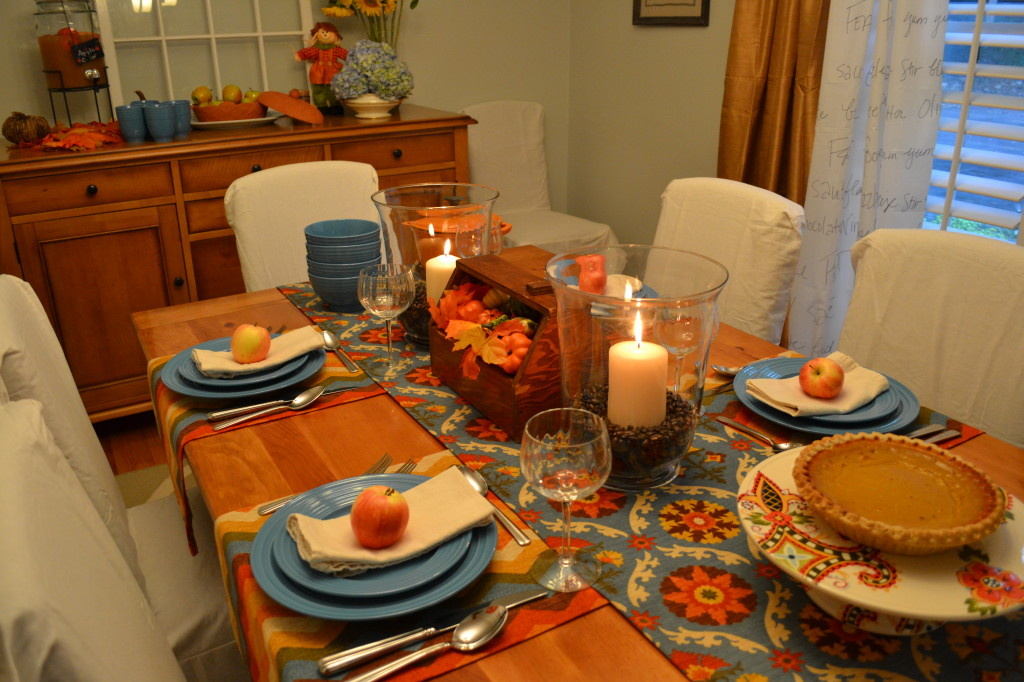 fall table - all things fall - Dogs Don't Eat Pizza