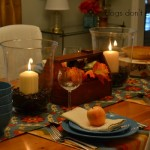 Creating Fall Warmth in my Dining Room