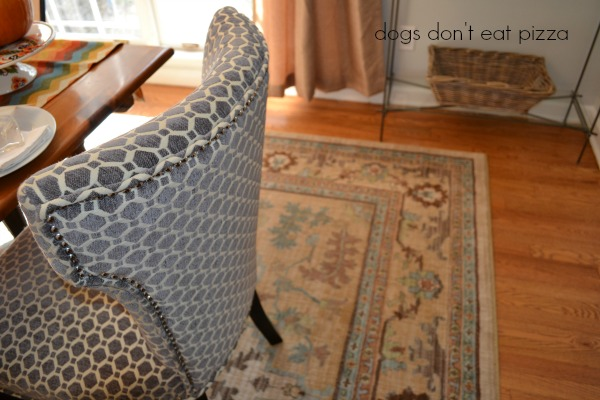 Mohawk American Craftsmen Rug collection added for the dining room reveal - thediybungalow.com