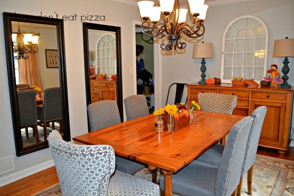 new dining room from living room - Dogs Don't Eat Pizza