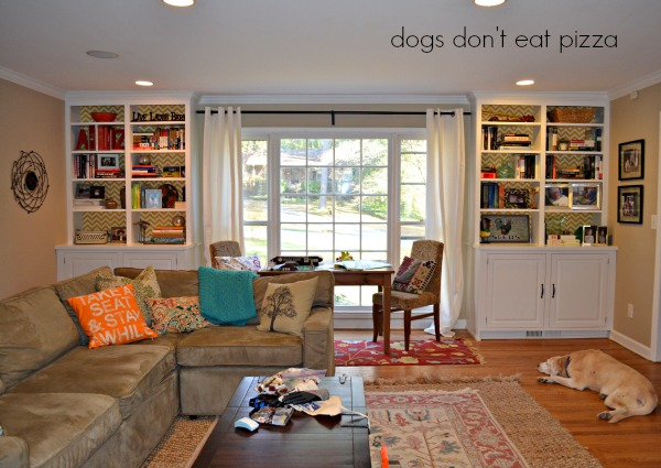 finished with curtains - Dogs Don't Eat Pizza