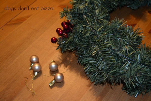 removing ornaments - Dogs Don't Eat Pizza
