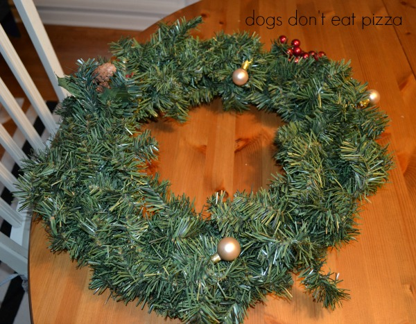 wreath before - Dogs Don't Eat Pizza