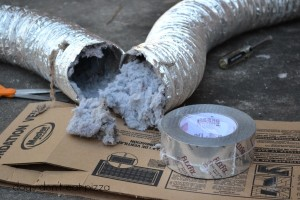 Spring cleaning - time to clean your dryer duct - thediybungalow.com