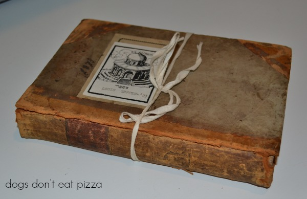 side view of book - Dogs Don't Eat Pizza