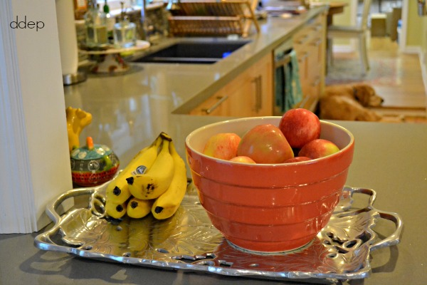 bowl of fruit for make your own snack - back to school snacks - thediybungalow.com