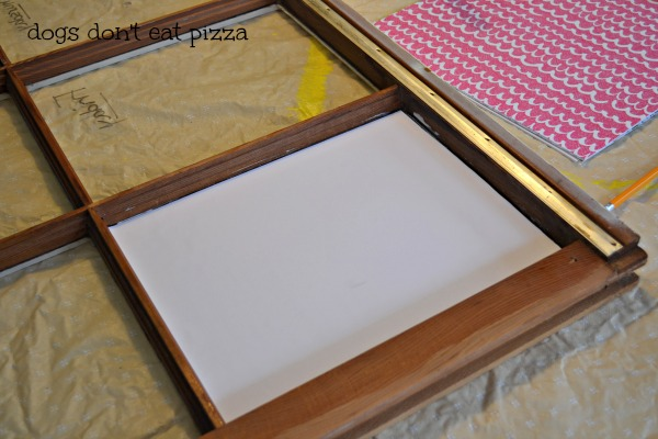 Updating window memo board - thediybungalow.com