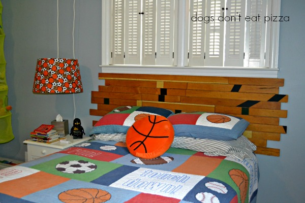 finished-gym-headboard - Dogs Don't Eat Pizza