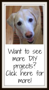 see more DIY projects here - TheDIYBungalow.com