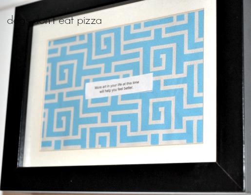 art-framed-fortune - Dogs Don't Eat Pizza