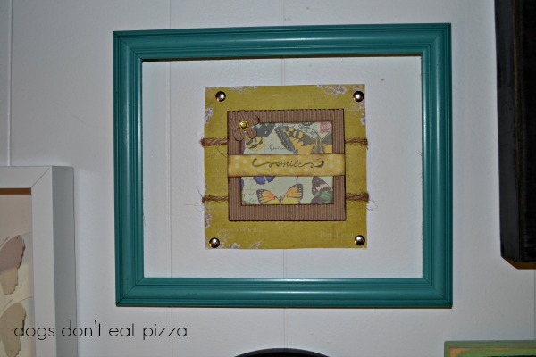 smile-card-painted-frame - Dogs Don't Eat Pizza