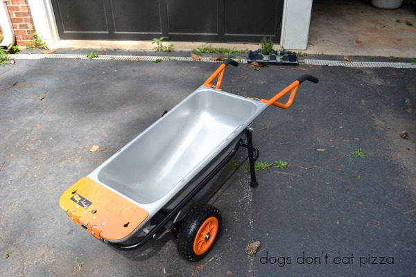WORX-cart - review - Dogs Don't Eat Pizza