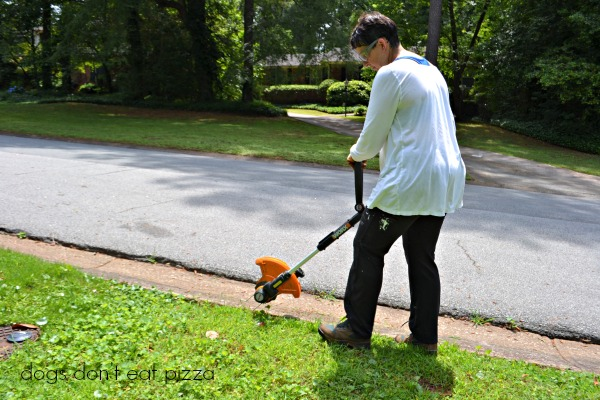 WORX-trimmer-edger - review - Dogs Don't Eat Pizza