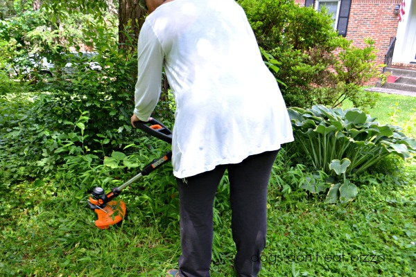 WORX-trimmer-mini-mower - review - Dogs Don't Eat Pizza