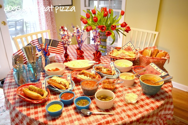 table-top-view-4th-July - Dogs Don't Eat Pizza