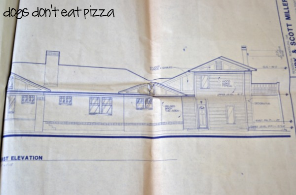 Architectural plans as art - thediybungalow.com