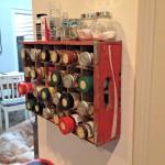 Vintage Coke Crate Spice Rack
