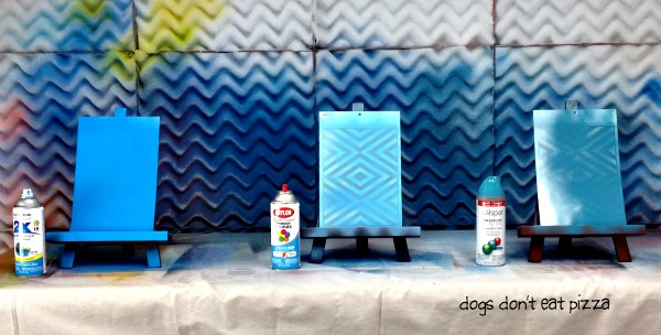 Spray paint brand comparison - how to spray paint - thediybungalow.com