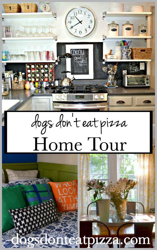 Home Tour at thediybungalow.com
