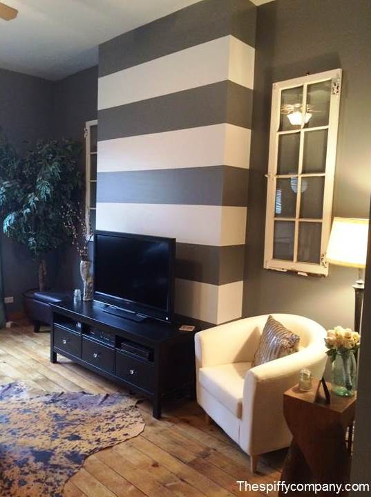 striped living room walls add an accent wall to your home mohawk homescapes 15740