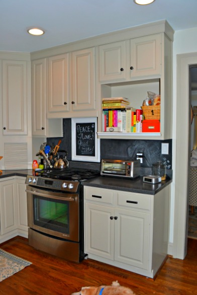 oven side - kitchen - thediybungalow.com