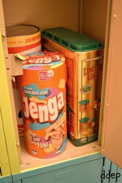 Repurposing Old Lockers for Storage - thediybungalow.com
