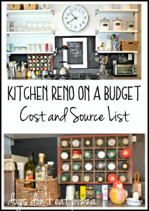 Kitchen Reno on a Budget - Cost and Source List - thediybungalow.com