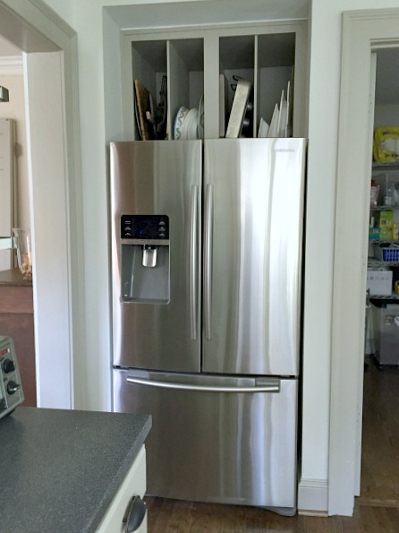 The refrigerator - kitchen reno - Dogs Don't Eat Pizza