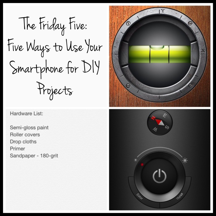 Five ways to use your smartphone for your DIY projects - from thediybungalow.com