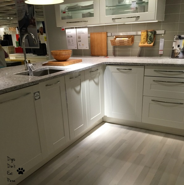IKEA corner cabinets won't fit in my kitchen - thediybungalow.com