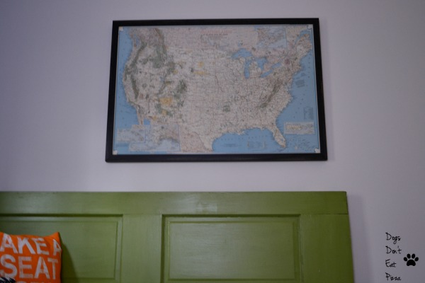 map over daybed - guest room - Dogs Don't Eat Pizza