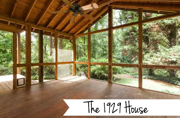 The 1929 House - Click here to get the tour - Dogs Don't Eat Pizza