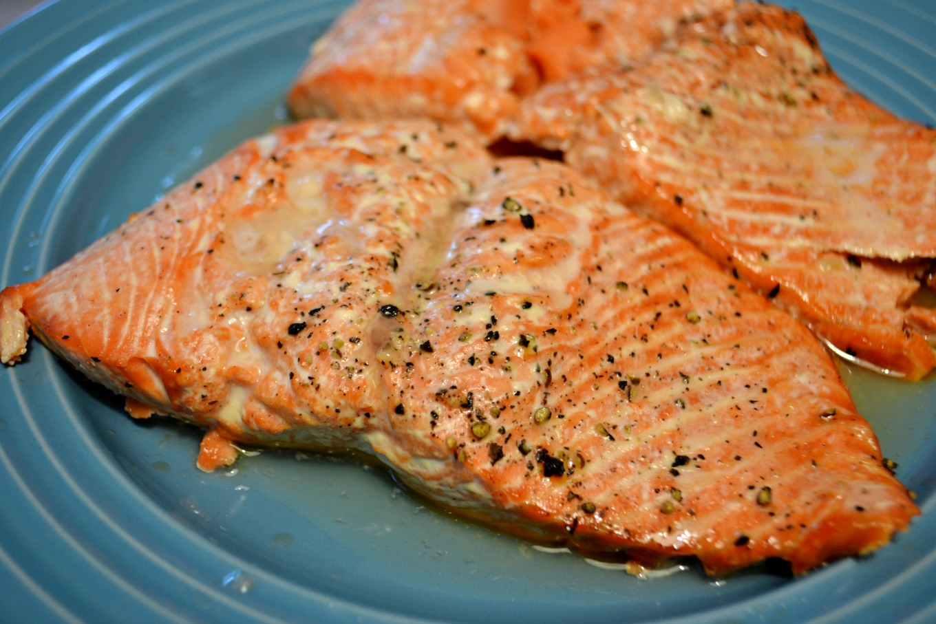 Grilled salmon is one of my favorite easy recipes for the grill - thediybungalow.com