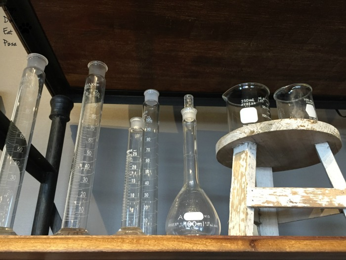 Test tubes for a bar - thediybungalow.com