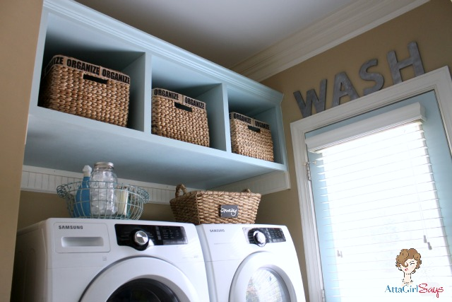 Atta Girl Says Laundry-Room-Built-in-Storage-and-organization