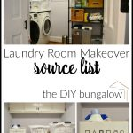 Laundry Room Project Source List