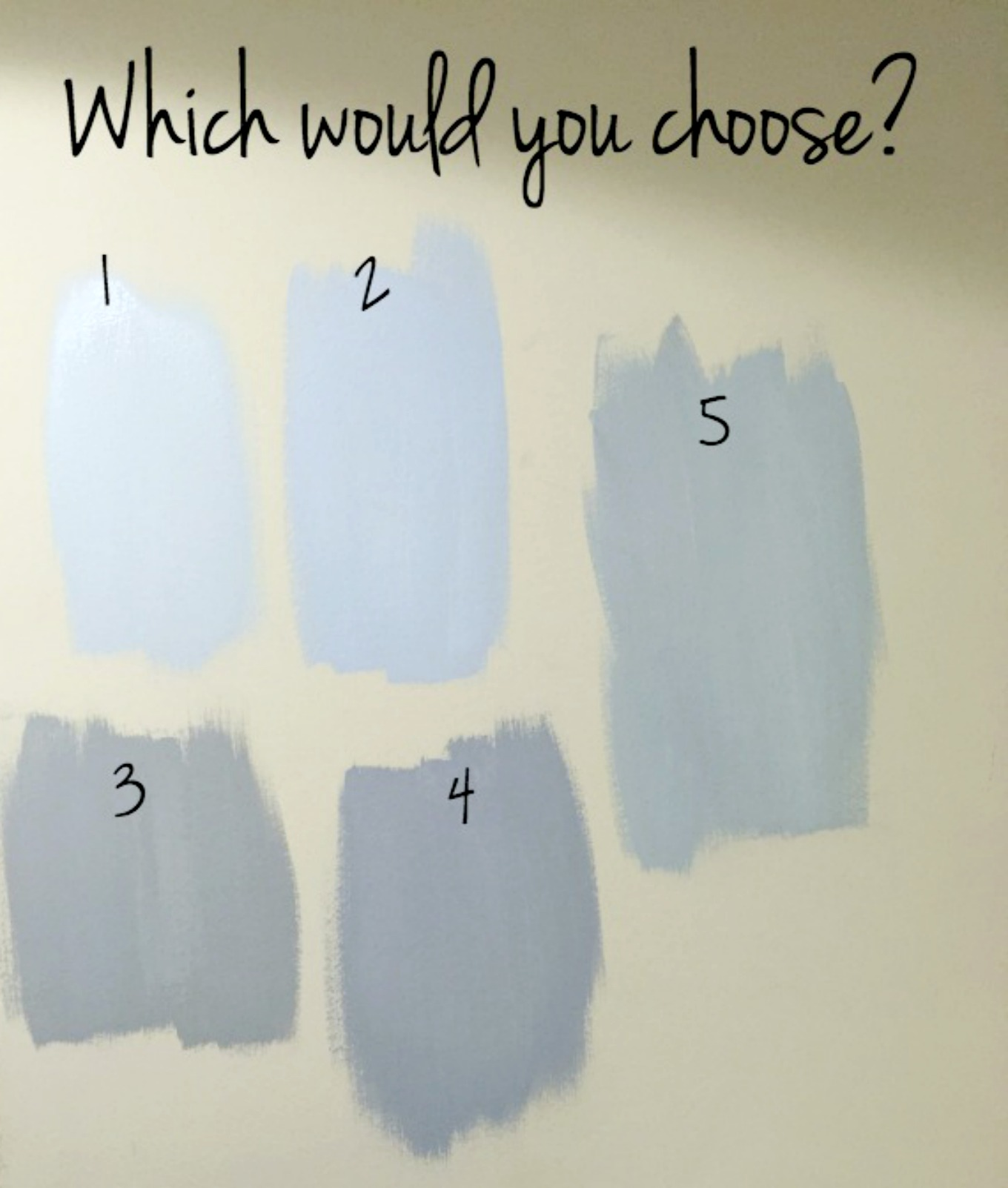 Laundry room paint color choices - thediybungalow.com